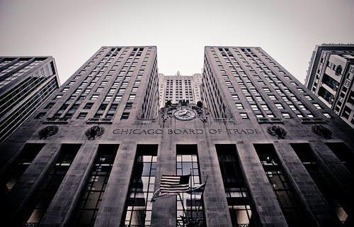 здание Чикагской товарной биржи