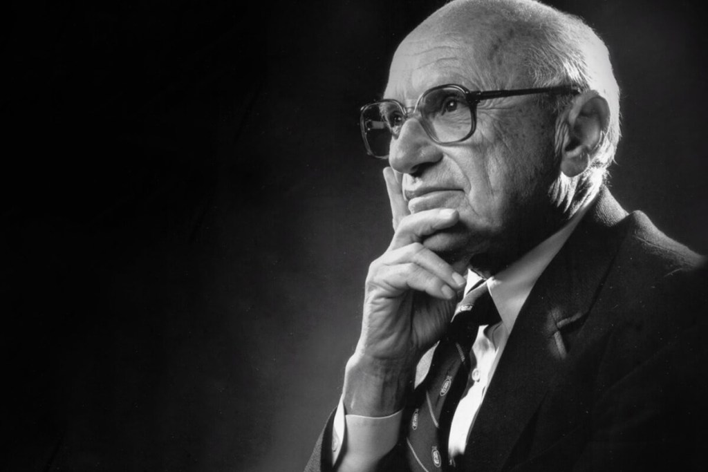 американский экономист Милтон Фридман