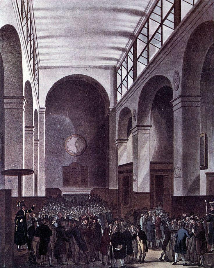London Stock Exchange 1810 год