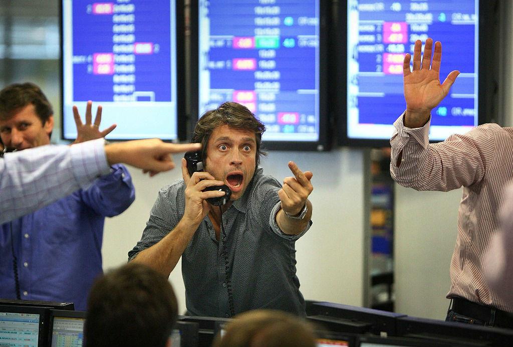 спекулянт на финансовом рынке