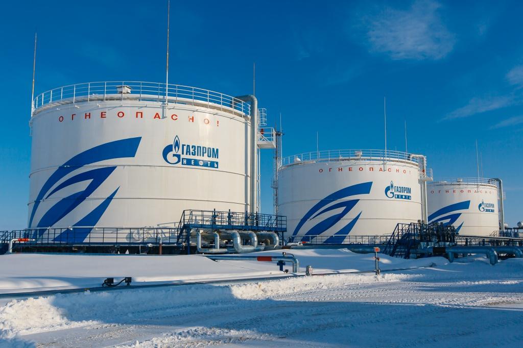 Новопортовское месторождение Газпром нефть