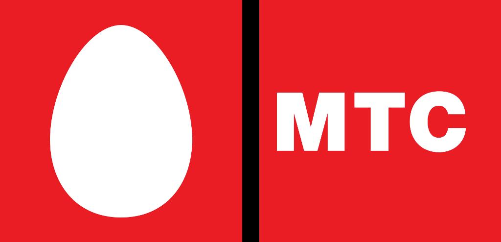 логотип компании МТС 2006-2010 год