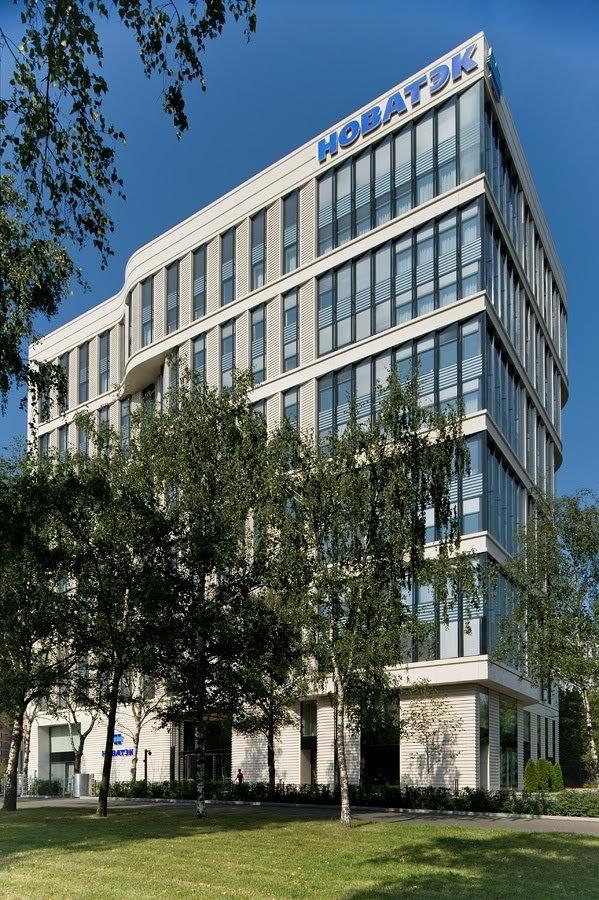 ПАО Новатэк центральное здание